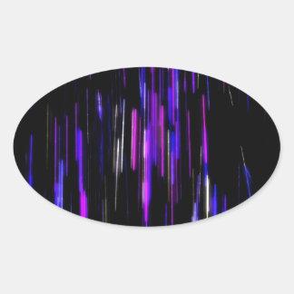 Spacious Glow Oval Sticker