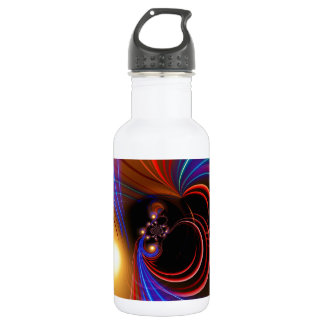 Spacy Abstract Water Bottle
