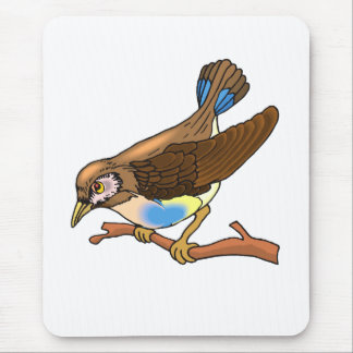 Spacy Sparrow Mouse Pad