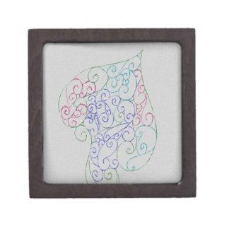 Spade design gift box