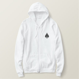 Spade Embroidered Hoodie