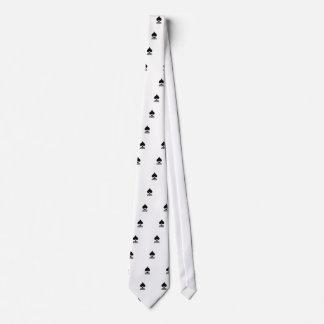 spade in black form tie