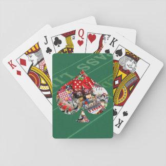 Spade - Las Vegas Playing Card Shape Card Decks