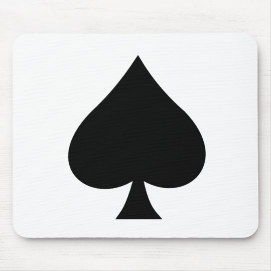 Spade Mouse Pad
