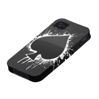 Spade on a Case Mate Tough for Iphone 4 iPhone 4 Cover