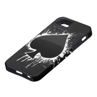 Spade on a Case Mate Tough for Iphone 5 iPhone 5 Cases