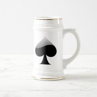 Spade Playing Cards Mug