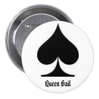 spade, Queen Gail Button