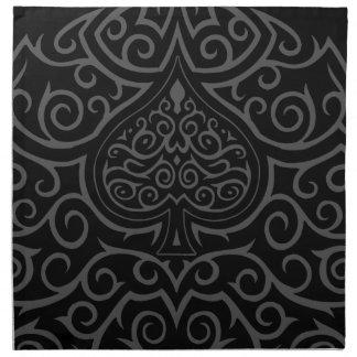 Spade & Scrollwork Cloth Napkins