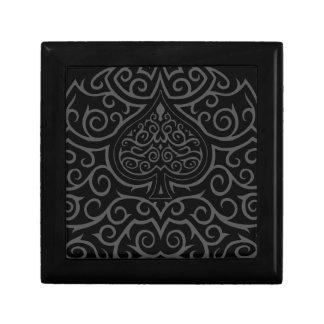 Spade & Scrollwork Gift Box