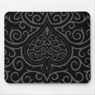 Spade & Scrollwork Mouse Pad