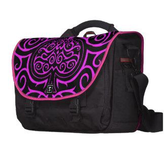 Spade & Scrollwork - Pink Commuter Bags