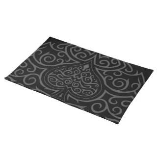 Spade & Scrollwork Place Mat
