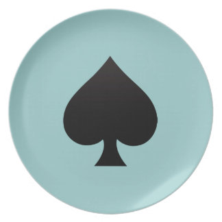 Spade - Suit of Cards Icon Plates