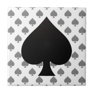 Spade - Suit of Cards Icon Tiles