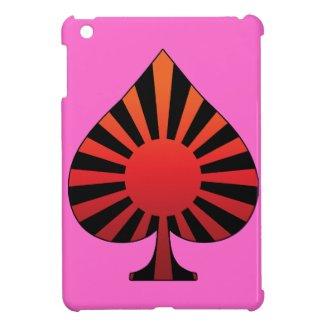 Spade sun rising iPad mini cover