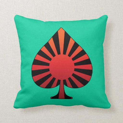 Spade sun rising pillows