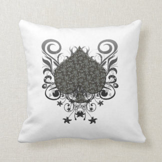 Spade Throw Pillow