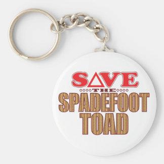 Spadefoot Toad Save Keychain