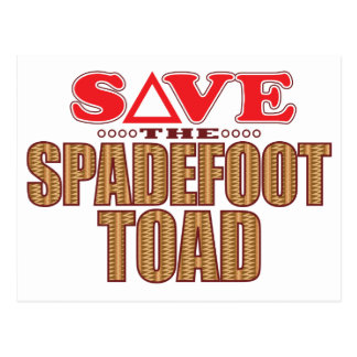 Spadefoot Toad Save Postcard