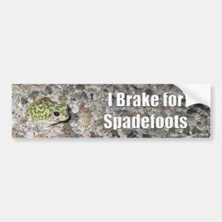 Spadefoots Bumper Sticker