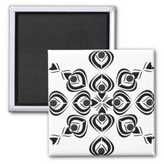 Spades 2 Inch Square Magnet