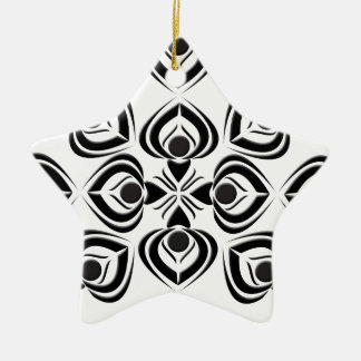 Spades Ceramic Ornament