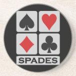 Spades coaster