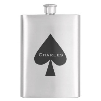 Spades Custom Flask