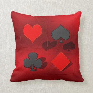 Spades heart Karo cross Pillow