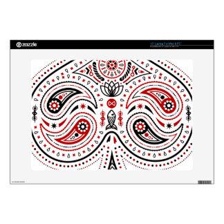 Spades - Mac & PC Laptop Skin (White/Red/Black)