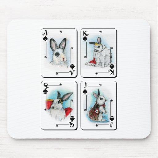 Spades Mouse Pad