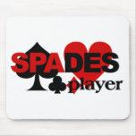 Spades Player mousepad