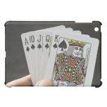 Spades Royal Flush iPad Mini Cases