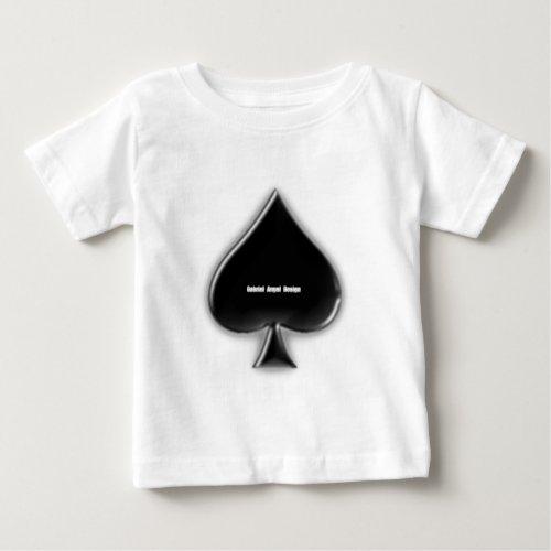 Spades Suit Baby T_Shirt