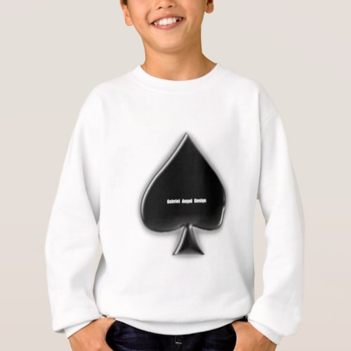 Spades Suit Sweatshirt