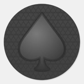 Spades Symbol Sticker