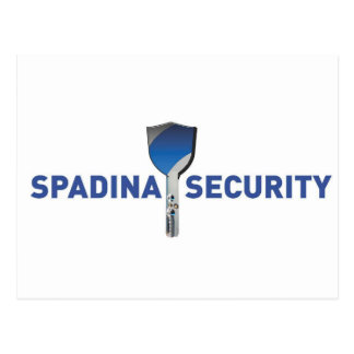 Spadina Security Logo Postcard