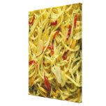 Spaghetti Aglio; Olio and Peperoncino Canvas Print