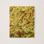 Spaghetti Aglio; Olio and Peperoncino Jigsaw Puzzle