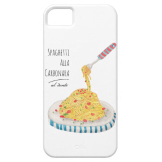 Spaghetti Alla Carbonara iPhone SE/5/5s Case