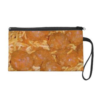 Spaghetti and Meatballs Wristlet Purses