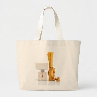 spaghetti and scale tote bag