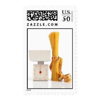 spaghetti and scale postage