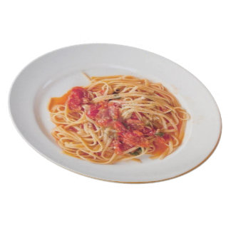 Spaghetti Anyone? Dinner Plate
