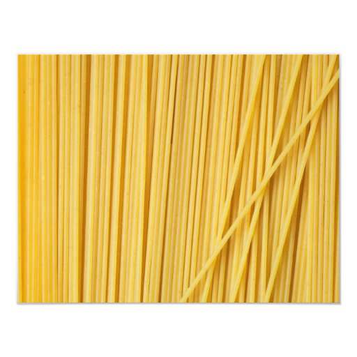 Spaghetti background 4.25x5.5 paper invitation card