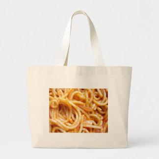 Spaghetti Canvas Bag