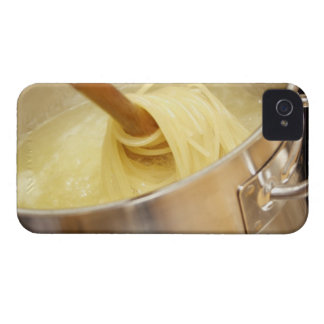 Spaghetti Being Stired in Pot iPhone 4 Cover