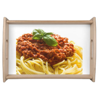 """Spaghetti Bolognese"" design serving tray"