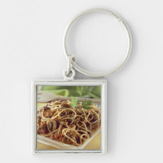 Spaghetti bolognese For use in USA only.) Key Chains